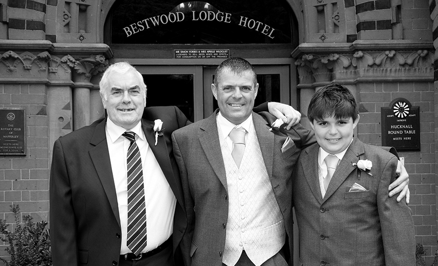 Wedding Days at Bestwood Lodge Nottingham